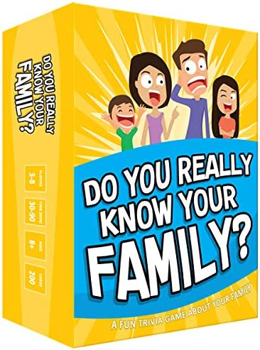 Do You Really Know Your Family A Fun Family Game Filled with Conversation Starters and Challenges product image