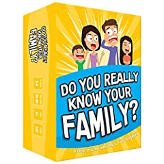 Get ready for the best family game night as you laugh and learn new things about each other with this fun card game. See who really knows the family best as you answer fun questions about each other while sparking interesting conversations. Create hi...