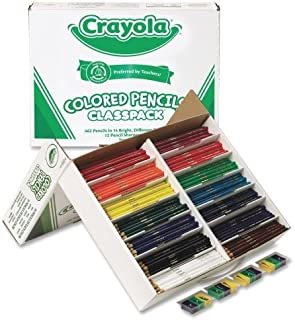Wholesale CASE of 5 - Crayola 462-Piece Class Pack Colored Pencils-Crayola Colored Pencil Class Pack, 462/BX, 14-Ast