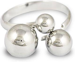 Karatcart Silver Metal Adjustable Ring for Women