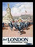 Museo Nacional de ferrocarriles Londres (6)' Impresión enmarcada, Multicolor, 30x 40cm