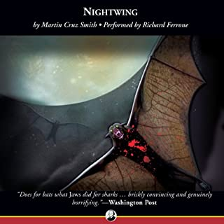 Nightwing audiobook cover art