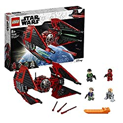 Features an opening minifigure pilot cockpit and two spring-loaded shooters that are fired by sliding the trigger left and right Includes three LEGO Star Wars minifigures: major vonreg, kaz xiono and general leia, plus R1-J5, a k a Bucket New-for-apr...