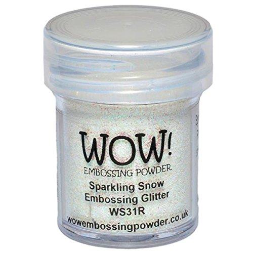 Wow Embossing Powder Wow.Embossing-Puder, 15ml, glitzernder Schnee
