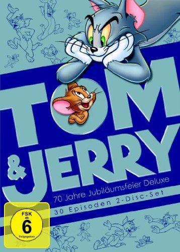 Tom und Jerry - 70 Jahre Jubiläumsfeier Deluxe [Deluxe Edition] [2 DVDs]