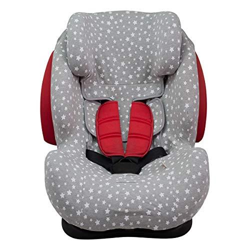 JANABEBE Funda para silla de coche Be Cool Thunder- Foppapedretti WHITE STAR