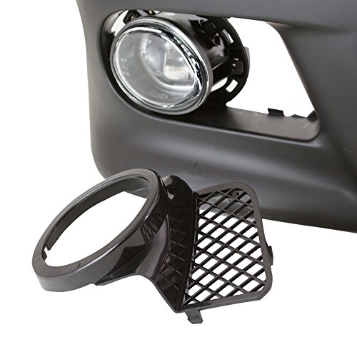 TopPick Black Open Mesh Grille Grill FOR BMW E39 w/ M5 style front bumper 1998-2003 51112496283-51112496284