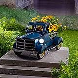 FENGLISUSU Decoración de jardín de camioneta solar de estilo...