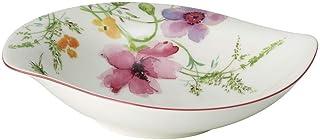 Villeroy & Boch Mariefleur Serve and Salad Deep, Bowl with a Curved Shape of Premium Porcelain, Diameter: 21 x 18 cm, White