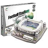 Georgie Porgy 3D Estadio de Fútbol Puzzles Juguetes de Construcción Conjuntos (Estadio Bernabeu...