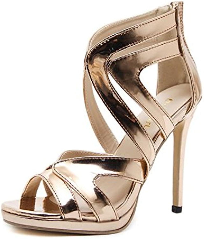 Big Code Sandals, European and American fine Heels