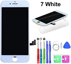 HTECHY Compatible with iPhone 7 Screen Replacement White(4.7