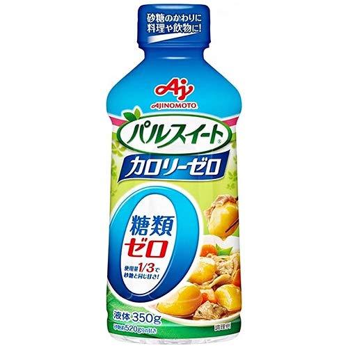 味の素 パルスイート カロリーゼロ(液体タイプ) 350g×6本入×(2ケース)