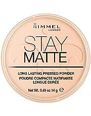 Rimmel London Stay Matte Pressed Powder - Warm Beige - Beige