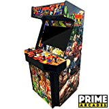 4 Player Upright Arcade Machine with 3,016 Games in 1 32' Monitor Trackballs