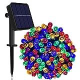 Solar String Lights Outdoor, 65ft 200 LED Solar...