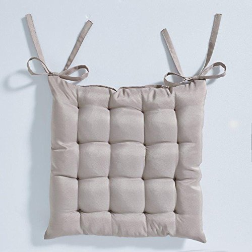 Today 261207 Assise Matelassée Polyester Mastic 40 x 40 cm