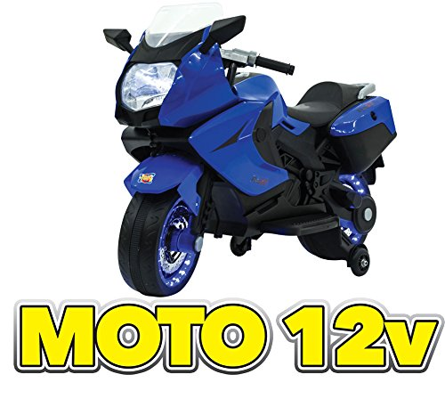Moto Elettrica 12v Blu GV-5212