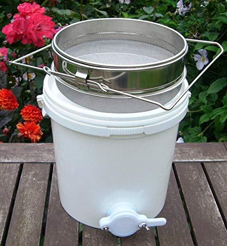 20 Liter Honigschleuder Hobbock Honig Bucket Filter Apiculture für Imkerei Honigeimer