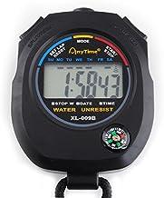 Digitale stopwatch multifunctioneel zakhorloge stopcontact kompas kalender alarm chronograaf #445