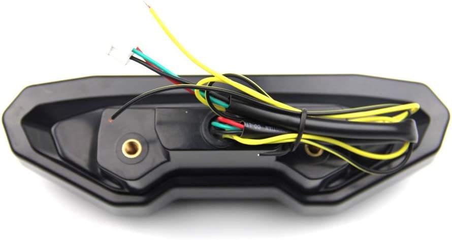 Led Bremslicht Mit Integrierten Blinker Für Yamaha Mt09 Tracer Mt 09 Und Mt 07 Klar Auto