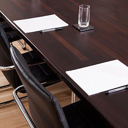 WORKTOPEXPRESS Arbeitsplatten Wenge Massiv wie Frühstückbars (2000mm X 620mm X 40mm)