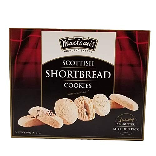 Macleans Luxury Shortbread Carton, Chocolate Chunk and Honey 400g