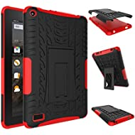 NOKEA Heavy Duty High Impact Resistant Armor Protection Cover Anti Slip Kickstand Feature Skin...