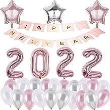 WZZA Nieuwe 40 inch digitale aluminium ballon 2022 Gelukkig Nieuwjaar familie vakantie sfeer decoratie bruiloft decoratie ...