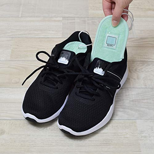 ファイン除湿消臭シート靴用毎日快適グリーン強力消臭繰り返し使えるFIN-502GR