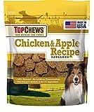 Top Chews Chicken & Apple Recipe 100% Natural Dog Treats & Contain No Artificial Preservatives, 2.5 lb. Bag