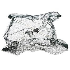 LJWXX Filet de pêche Baits en Maille Pliable Trappé Caisses Crevette Crevette Crevettes Sommet Smelt Eel Crab Homard…