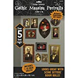 NET TOYS Wanddeko Gemälde 2 x 85 x 165 cm Gothic Portraits Halloween Dekoration Horror Deko Wanddekoration