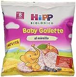 Hipp Baby Snack Gallette di Riso al Mirtillo - 7 confezioni da 30 g...