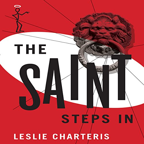 The Saint Steps In audiobook cover art