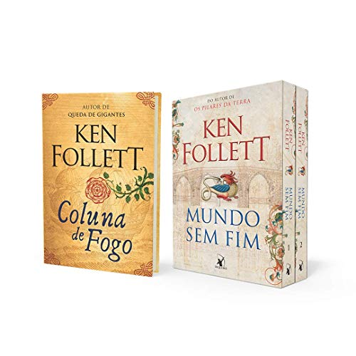 Coleção Ken Follett - Mundo Sem Fim + Coluna De Fogo