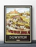 TNND Downton Abbey inspiriertes T-Poster, glänzend, super