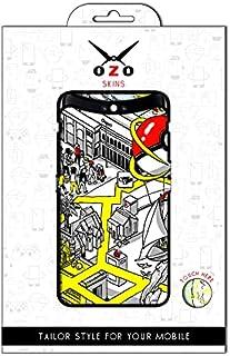 لاصقة حماية من اوزو بشكل الوان الحياه لموبايل Vivo Y51