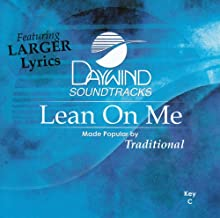 Lean On Me Accompaniment/Performance Track
