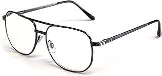 1106 Metal Aviator Reading Glasses in Gun-Metal or Gold