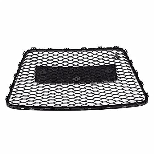 DAJIJI Parrilla Frontal, para RSQ7 Style Front Sport Hex Mesh Honeycomb Hood Grill Black para Audi Q7 4L 2007 2009 2010 2011 2012 2012 2013 2014 2015 2015