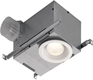 Broan-Nutone  744LEDNT  Recessed Fan and Light Combo for Bathroom and Home, ENERGY STAR Certified, 14-Watts, 1.5 Sones, 70 CFM