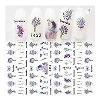 ZRBH 花柄装飾やアップリケ用品 (Color : F453)