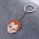 MINTUAN Juego de niños Chucky Llavero semilla de Chucky Triloquist muñeca Colgante llaveros para Mujeres Hombres Coche Llavero joyería Regalo