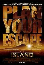 The Island Movie Poster (27 x 40 Inches - 69cm x 102cm) (2005) -(Ewan McGregor)(Scarlett Johansson)(Djimon Hounsou)(Steve Buscemi)(Sean Bean)(Michael Clarke Duncan)