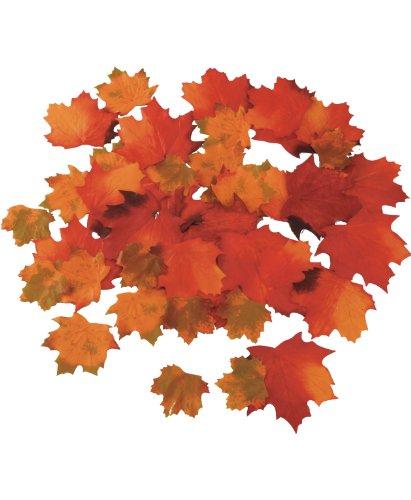 Lot de 48 feuilles d'érable artificielles