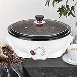 Electric Coffee Roaster Machine, 0-240℃ Household Roasting Machine, 800g Non-Stick Coffee Bean Roasting Machine
