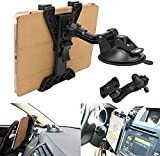 Tablet Holder Car Air Vent Mount ,OHLPRO Universal Dashboard Windshield 2-in-1 Cradle TPU Suction Sticky Gel for iPad/iPad Mini Samsung Galaxy Size 6