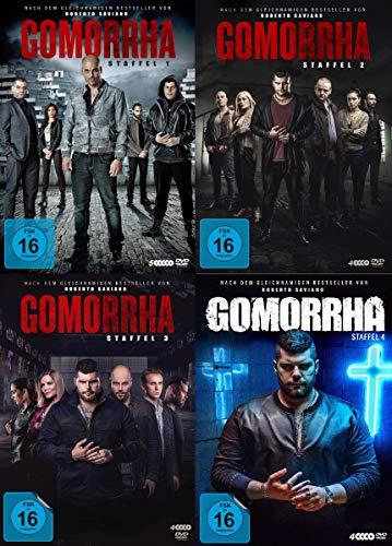 Gomorrha - Staffel 1-4 im Set - Deutsche Originalware [17 DVDs]