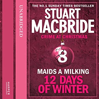 Twelve Days of Winter: Crime at Christmas (8) – Maids-a-Milking cover art